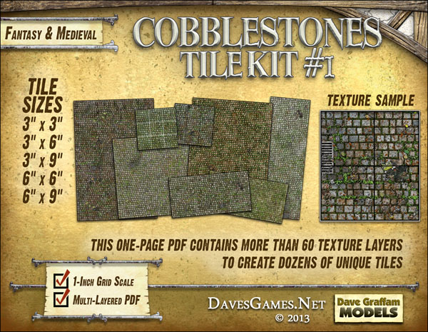 Cobblestones Tile Kit #1
