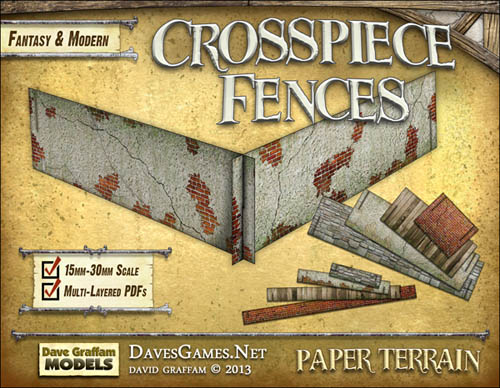 Crosspiece Fences