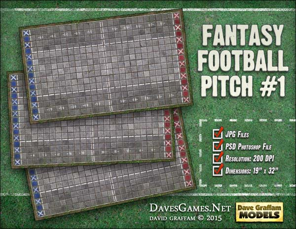 Fantasy Football Pitch #1
