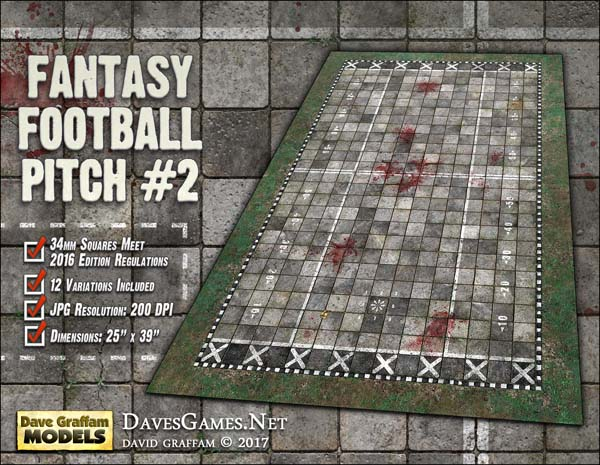 Fantasy Football Pitch #2