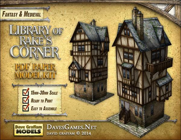Library of Rake's Corner