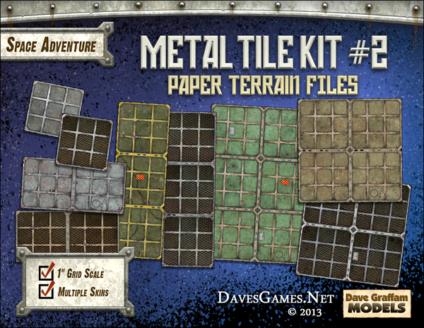 Metal Tile Kit #3