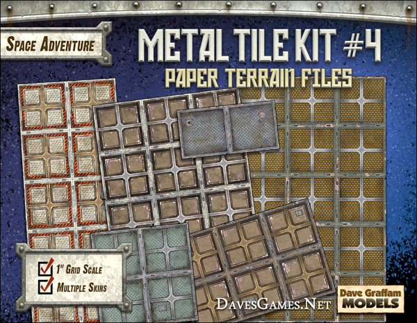 Metal Tile Kit #4