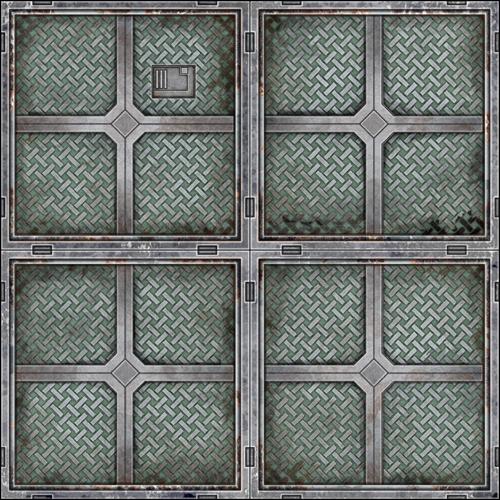 Metal Tile Kit 4 Dave Graffam Models SciFi DriveThruRPGcom