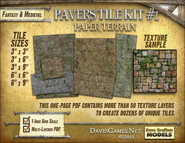 Pavers Tile Kit #1