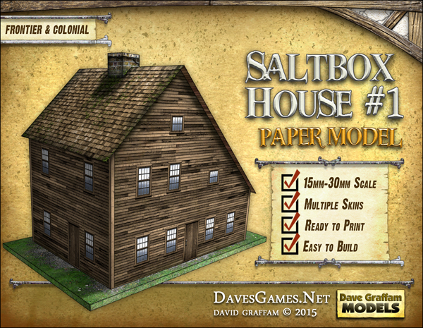 Saltbox House #1