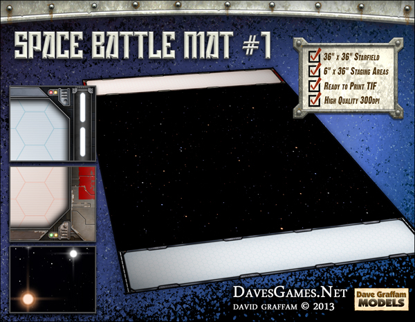 Space Battle Mat 1 Dave S Games