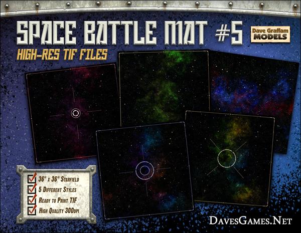 Space Battle Mat #5 - Dave Graffam Models | Game Mats | DriveThruRPG com