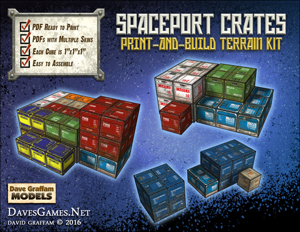 Spaceport Crates