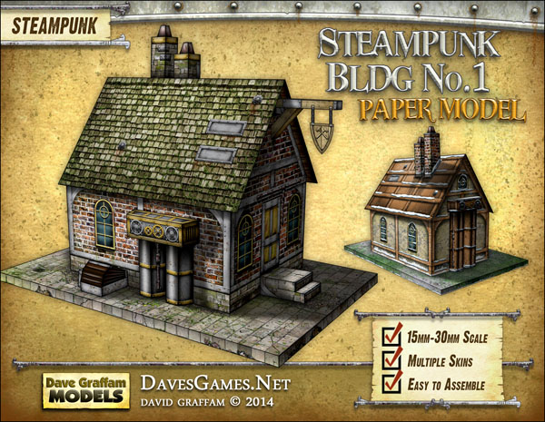 Steampunk Building No. 1