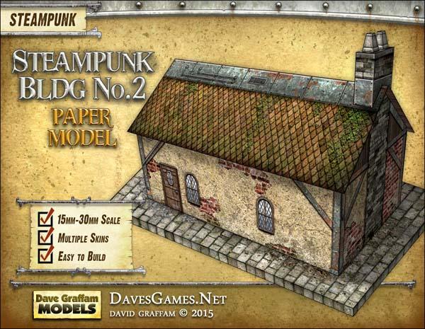 Steampunk Building No. 2