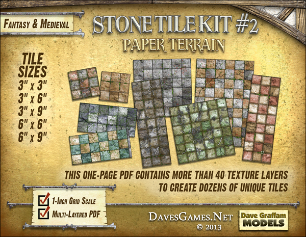 Stone Tile Kit #2