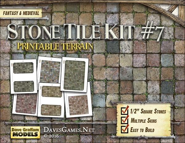 Stone Tile Kit #7
