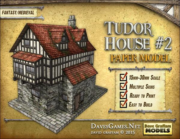 Building tudor house model