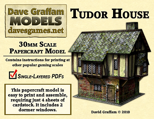 template tudor+house+model