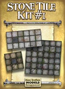 Stone Tile Kit 1 Paper Model Dave S Games