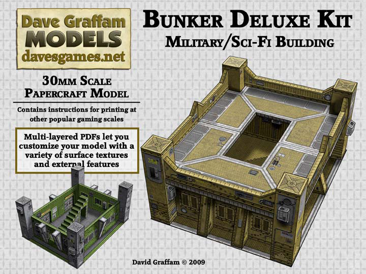 30mm bunker deluxe kit price $ 6 95 the bunker deluxe kit is a