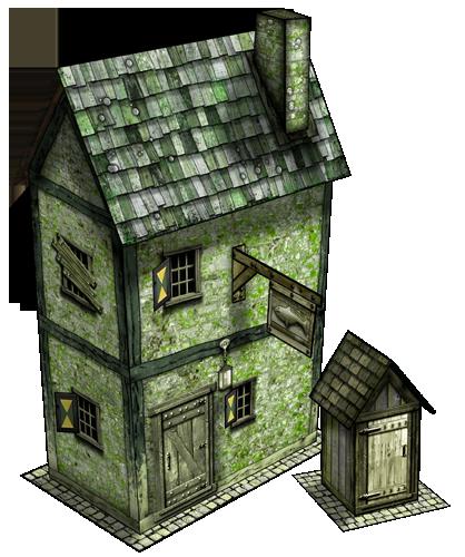 Maritime Buildings Bundle Paper Models - Dave Graffam Models |  DriveThruRPG com