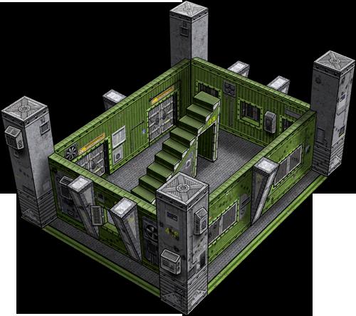 Bunker Deluxe Kit Paper Model   Dave's Games