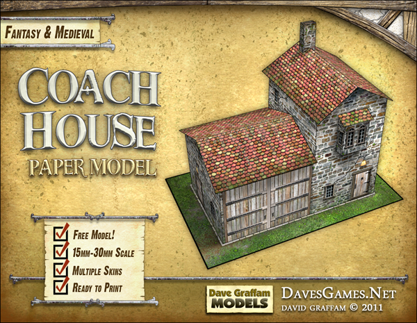 Coach House Easy To Build