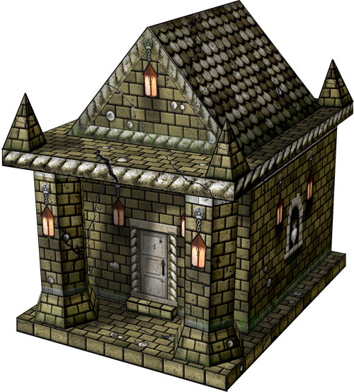 New fantasy/medieval 30mm papercraft models from Dave's Games - Page