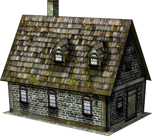 Low Street Buildings Bundle Paper Models - Dave Graffam Models | Fantasy &  Medieval | Dungeon Masters Guild