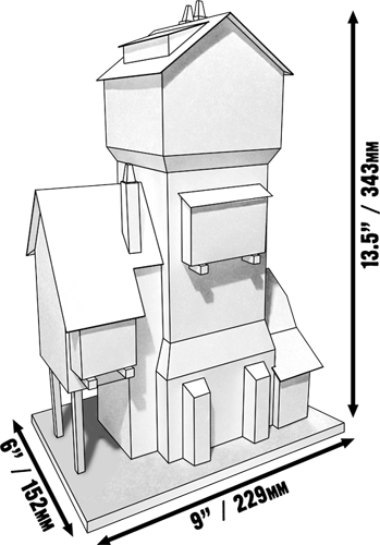 Friediger House Paper Model Kit - Dave Graffam Models | Fantasy & Medieval  | DriveThruRPG com