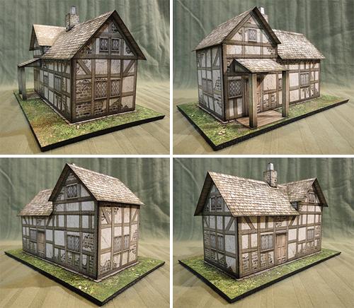 Frontier House Paper Model - Dave Graffam Models | Frontier |  DriveThruRPG com