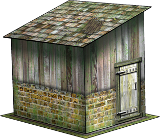 Garden Shed Paper Model Dave Graffam Models Fantasy