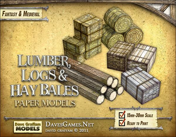 Logs, Lumber & Hay Bales