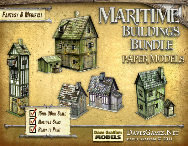 Maritime Buildings Bundle