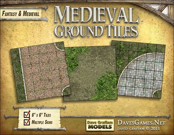 Medieval Ground Tiles