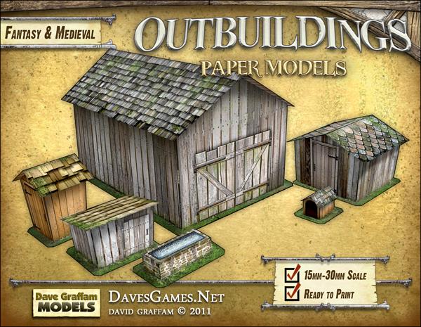 Longhouse Paper Model Dave Graffam Models – Desenhos Para Colorir