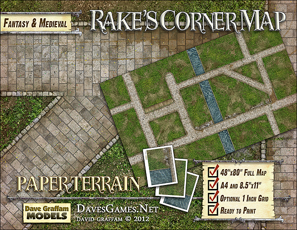 Rake's Corner Map