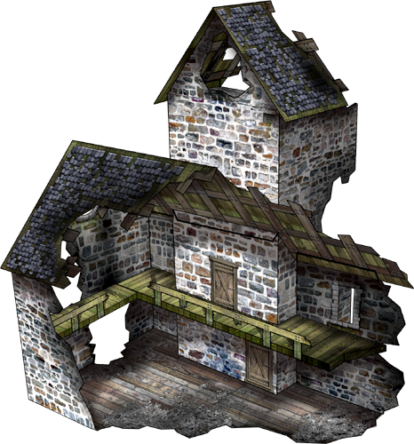 Dave Graffam Models: papercraft Ruins on sale! - Forum - DakkaDakka