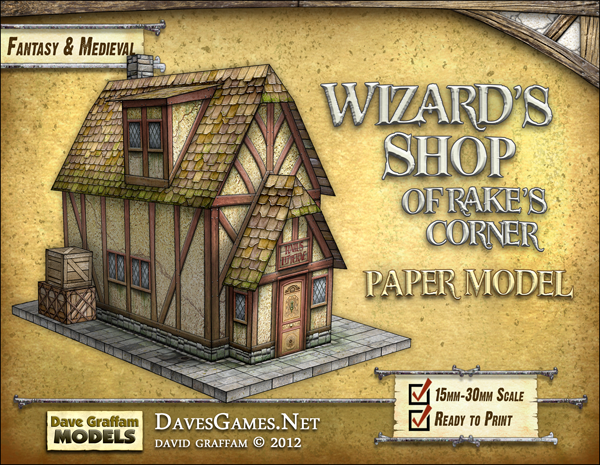 Wizard's Shop of Rake's Corner