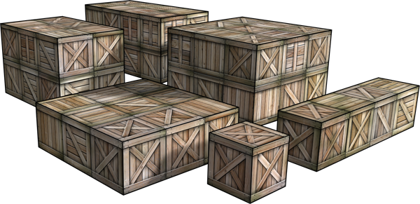 Wooden crates dave graffam models fantasy medieval for Where to buy old crates
